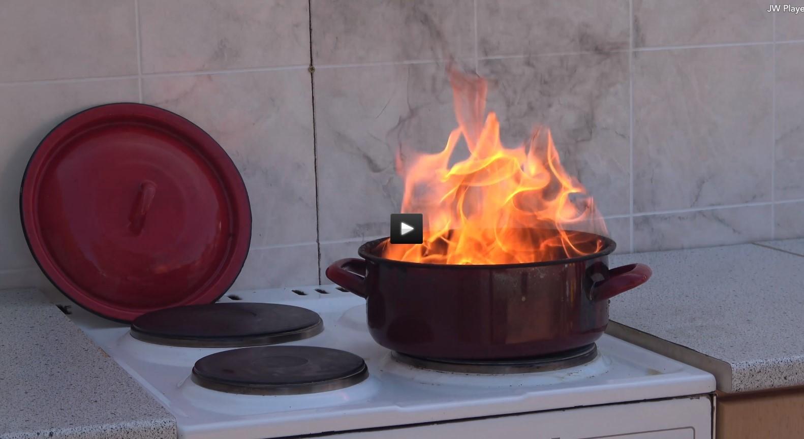 Konyhatüzek megelőzése című videó előképe