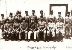 Hivatásos legénység 1914-ben