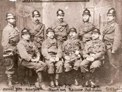 Hivatásos tűzoltók 1885-ben