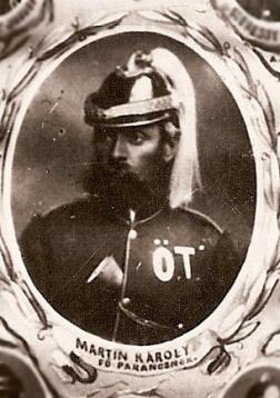 Martin Károly, az első főparancsnok