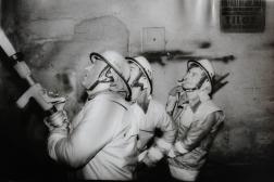 DIGÉP tűz 1992. december 5. - Fotó: Pusztai László